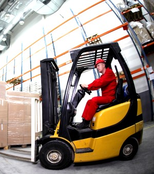 Health and Safety issues relating to using forklifts in conjunction with racking and shelving in warehouses, workshops and factories